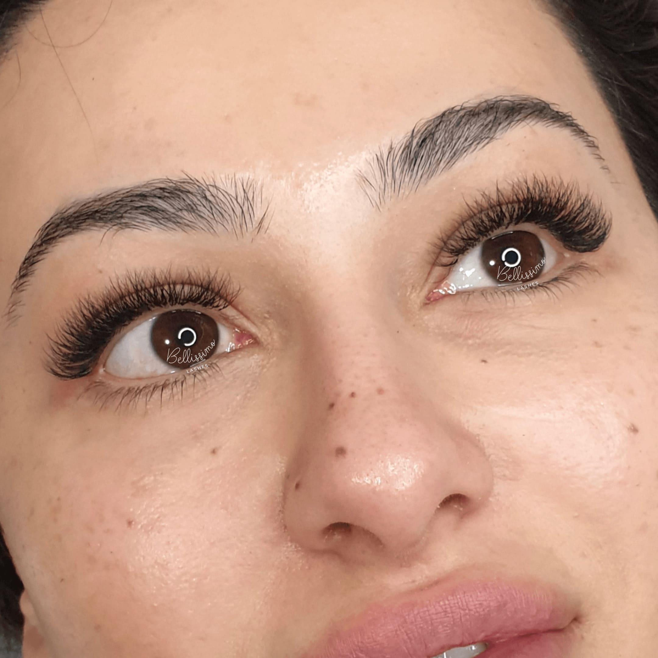 Lash sculpt eyelash extensions Brisbane
