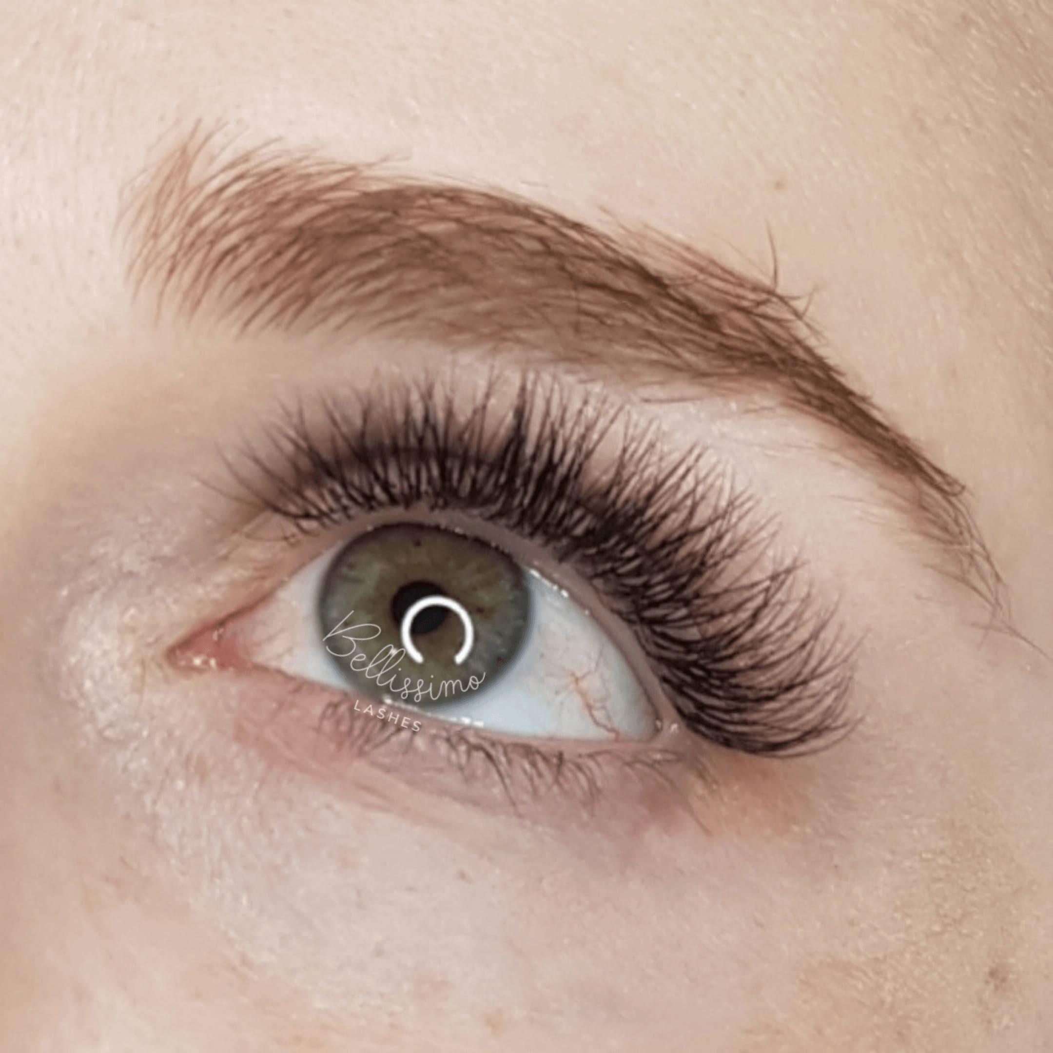 Hybrid Eyelash Extensions Brisbane