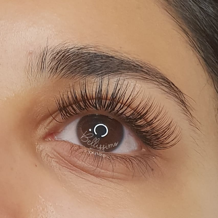 Luxury classic eyelash extensions